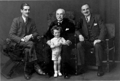 FOUR GENERATIONS OF THE MICKEL FAMILY 1938