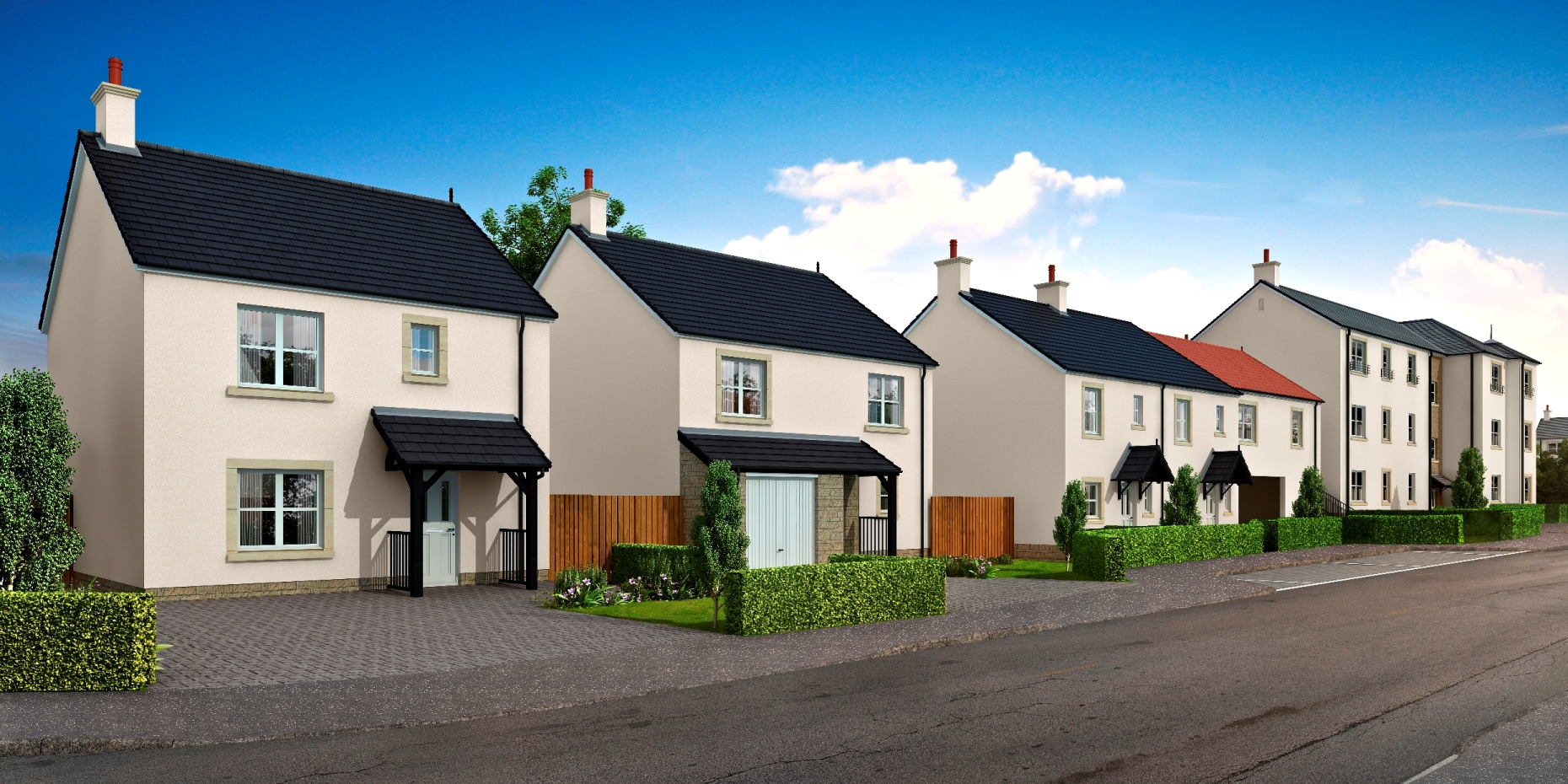 Mactaggart mickel homes millerhill mactaggart for New homes to build