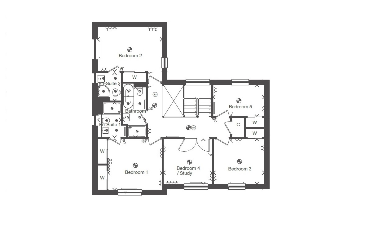 Mactaggart mickel homes the elliot mactaggart for Elliott homes floor plans