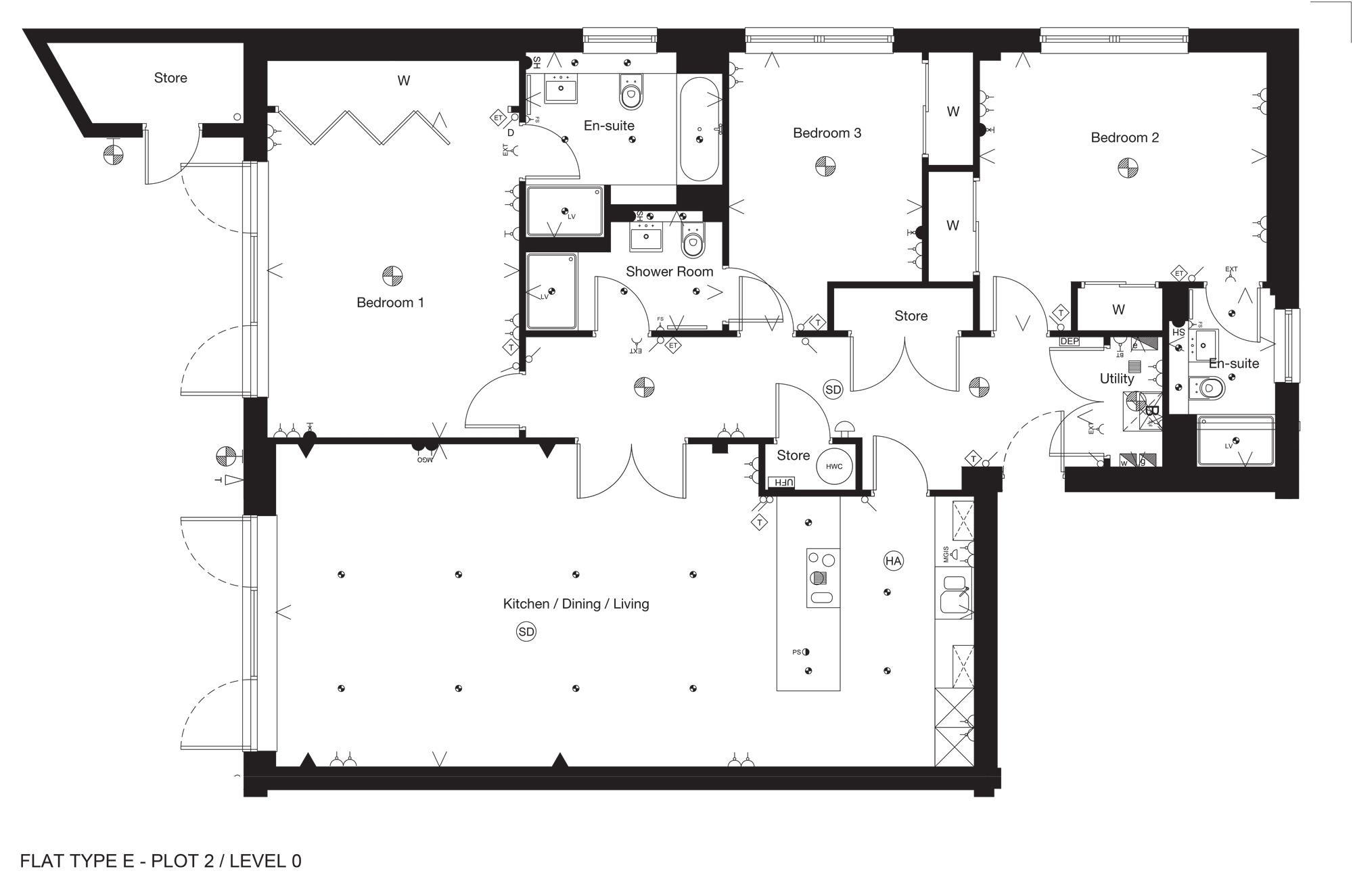 The Erskine Floor Plan