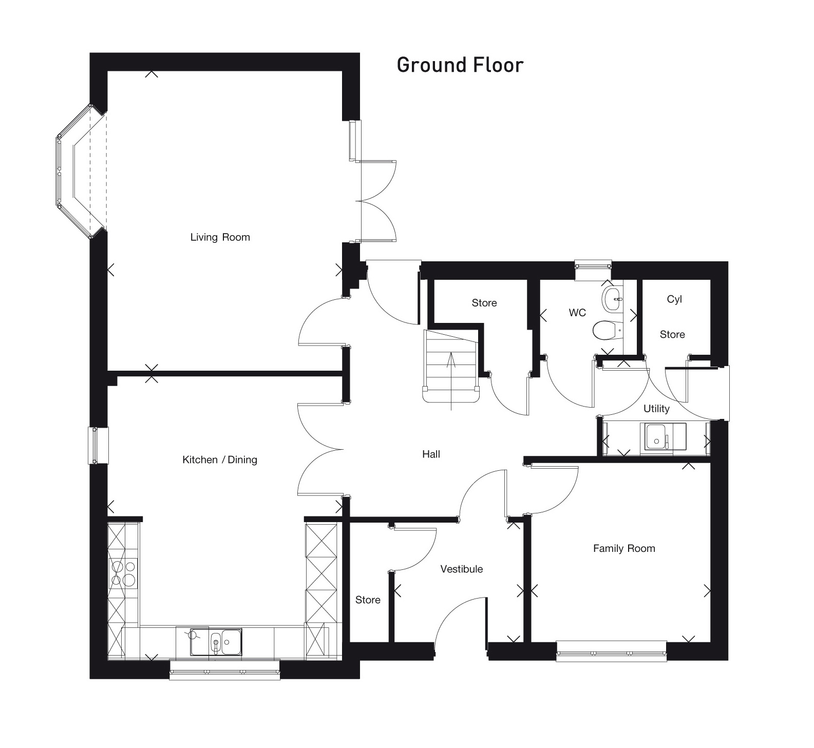 The Ferrey Ground Floor